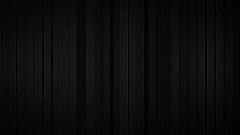 Black vertical stripes 3D rendering Animation
