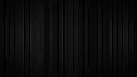 Black vertical stripes 3D rendering Animation