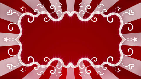 flashing red banner loopable animation Animation