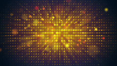 Flashing light bulbs disco wall loopable background Animation
