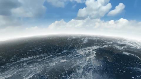 18 3d animated panoramic sky and sea Animation