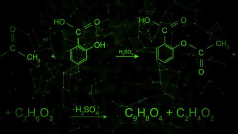 Chemical formula animation CG動画