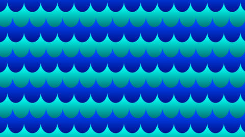 Marine seamless pattern Animation