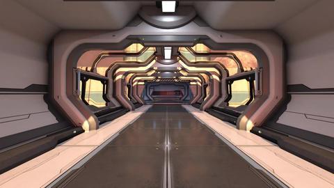 In the SpaceShip Corridor GIF