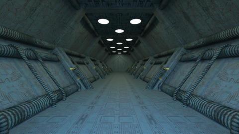 Sci-fi Corridor Animation