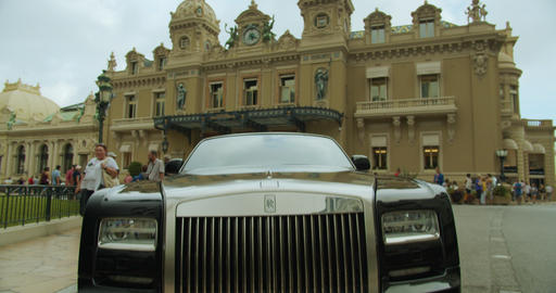 Monte-Carlo, Monaco - October 15, 2019: Luxury life, elements of luxury life Live Action