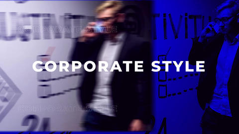Corporate Style Short Intro After Effects Template