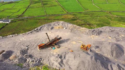 Slate Quarry, Valentia Island, Ireland Live Action