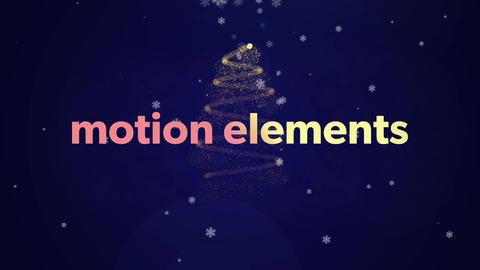 クリスマス・妖精・結婚式の演出にぴったりのイントロロゴテキストアニメーション! After Effectsテンプレート