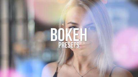 Bokeh Presets Premiere Proテンプレート