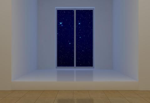 Room at night Fotografía