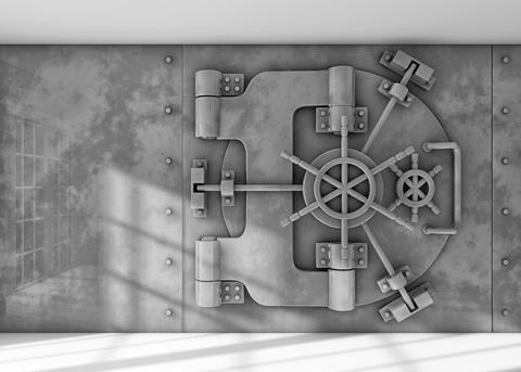 Vault background フォト