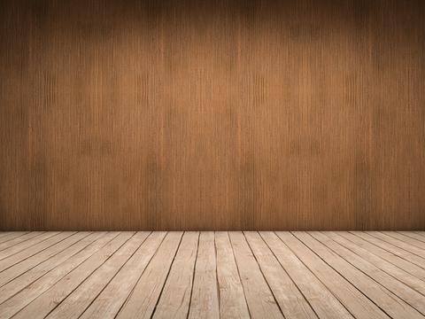 Wood wall and wood floor Fotografía