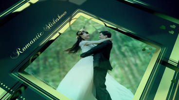 Gold Wedding Slideshow Plantilla de After Effects