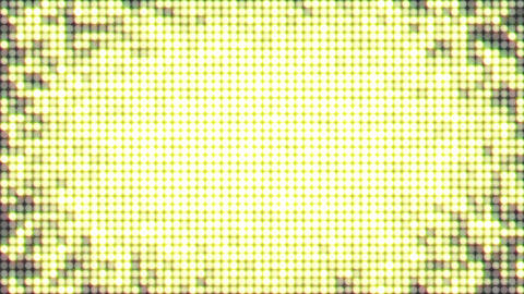 Gold dots light flare loop animation GIF