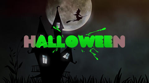 Halloween Titles FCPX Apple Motion Template