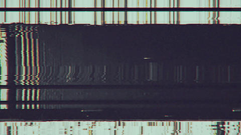 VHS Glitch Background 01 Videos animados