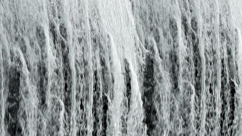 Waterfall texture loop full frame 4K Footage