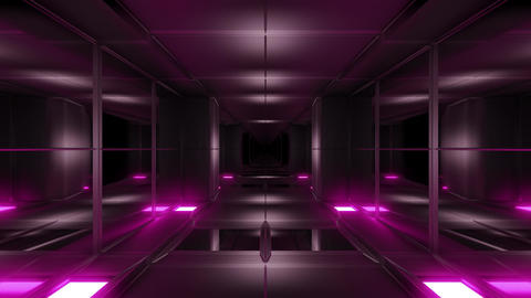 clean design futuristic scifi science-fiction tunnel corridor 3d illustration Animation