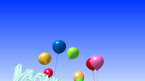 100 3D amimated template greeting with birthday Animation