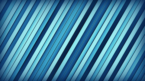 Blue lines 3D render loopable animation Animation