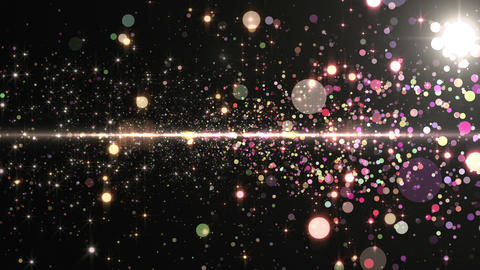 Lens Flares and Particles 16 N7 4k CG動画