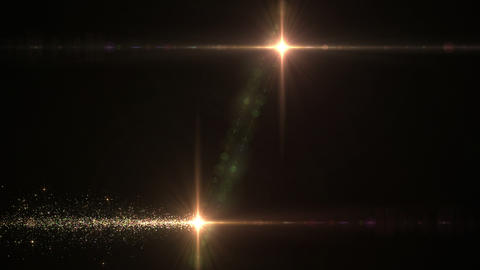 Lens Flares and Particles 16 N7 4k, Stock Animation