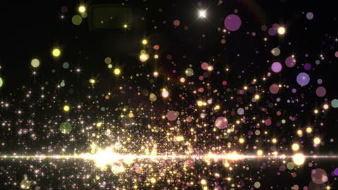 Lens Flares and Particles 16 S7b 4k CG動画