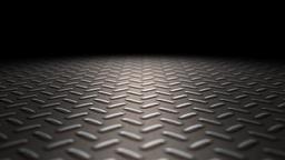 Industrial metal floor loop Animation
