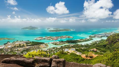 Seychelles Mahe Coastline Timelapse Footage