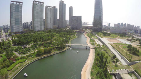 Incheon Songdo Central Park 1 by WithGopro Footage