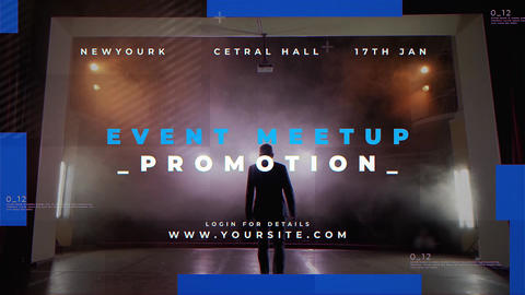 Event Meetup Promo After Effects Template