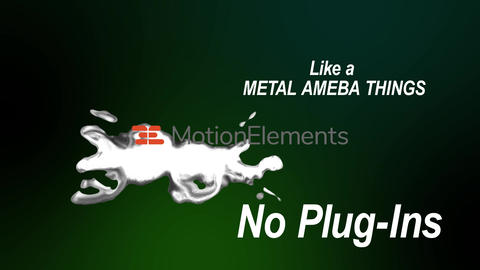 MetalAmebaTemplate After Effects Template