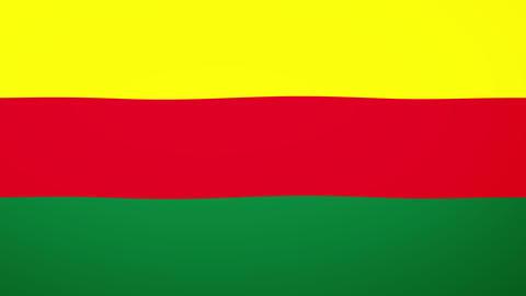 Rojava Flag Composition Videos animados