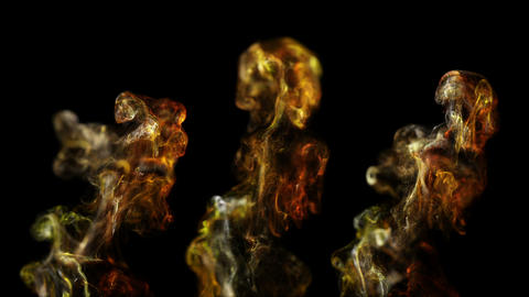 Abstract background of liquid particles. On a beautiful relaxing background Footage