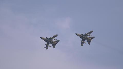 Combat Aircraft Panavia Tornado Overflight Live Action