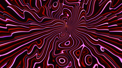 Abstract Wavy Tech Background Live Action