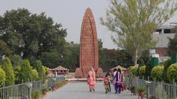Jallianwala Bagh massacre Memorial, people walking to,Amritsar,Punjab,India Footage