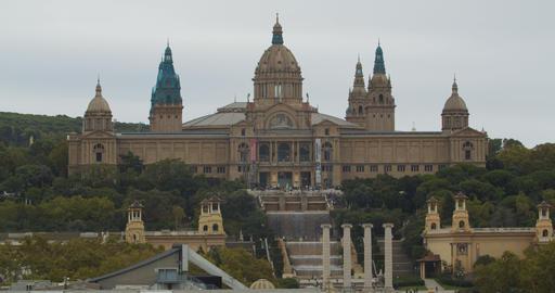 nish architecture, Barcelona NationPalau Nacional, Barcelona, Spaal Palace Live Action
