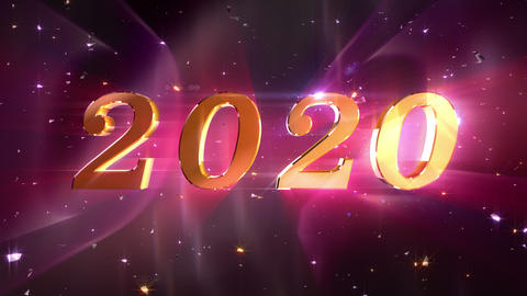 New Year 2020 opening animation Animation