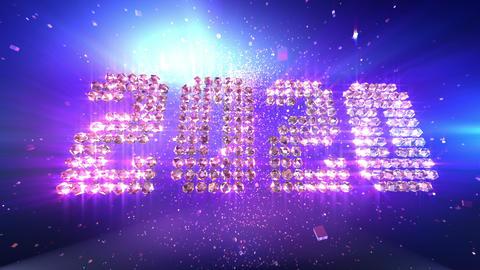 New Year 2020 Animation background Animation