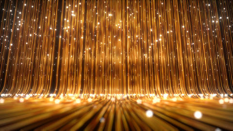 Golden Luxury Background CG動画