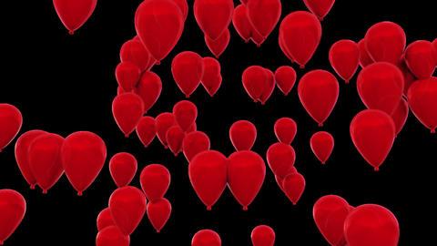 Red Balloons CG動画