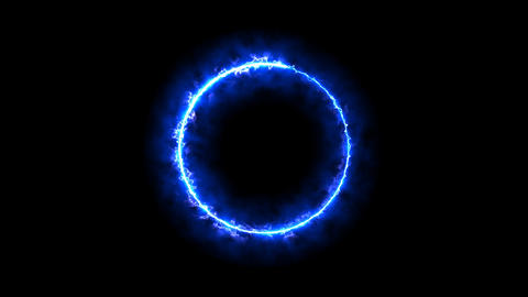 Ring of electricity FHD Animation