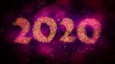 New Year 2020 Background Animation Videos animados