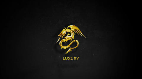 Gold & Silver Logo Reveal After Effects Template