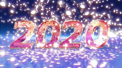 New Year 2020 Animation Animation