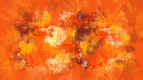 Orange and brown watercolor background appears on the alpha channel GIF