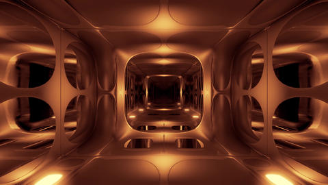 clean futuristic alien scifi fantasy hangar tunnel corridor 3d rendering motion Animation