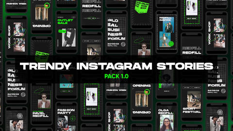 Trendy Instagram Stories | Pack 1.0 After Effects Template